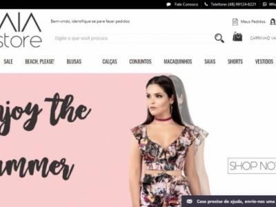 Loja de Vestuário Feminino E-Commerce
