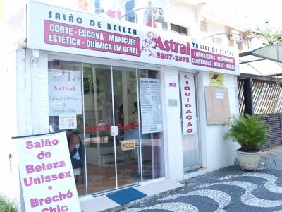 Ponto Comercial (Salão de Beleza) em Santos, ótima localização a 100m da praia