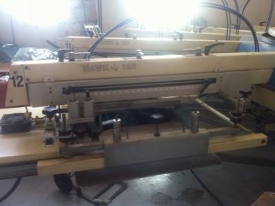 Carrossel Serigrafico Automatic TAS HAWK 12E+Estufa Metalnox