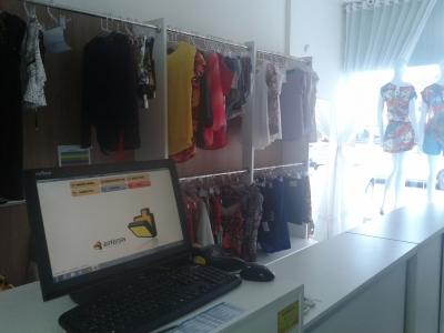 Loja de confecções feminina