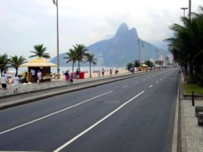 Quiosque duplo praia Barra