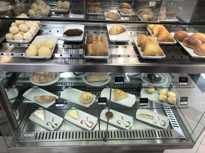 Cafeteria Franquia Top dentro Supermercado