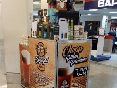Kioske de Chopp, cervejas artesanais, doces...