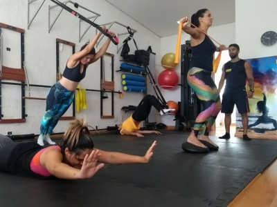 Estúdio de Funcional e Personal Trainer.