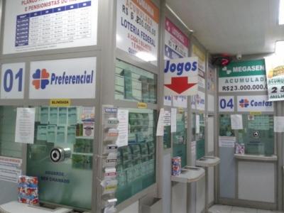 Lotérica em Santos
