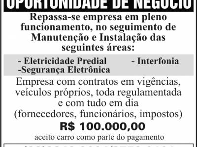 EMPRESA DE ELÈTRICA E SEGURANÇA ELETRÔNICA