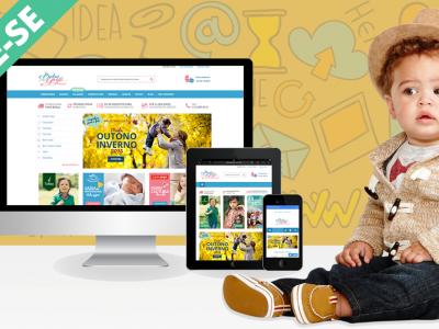 Loja de Produtos para Bebês ONLINE
