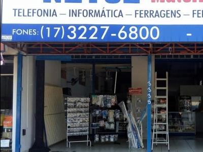 loja de materiais elétricos, informática e telefon