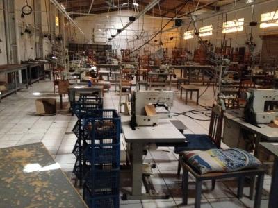 Maquinario Completo de Fabricação de Roupas (Jeans)