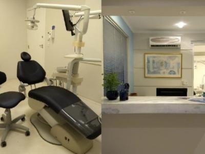 Clínica odontológica na região de Santos