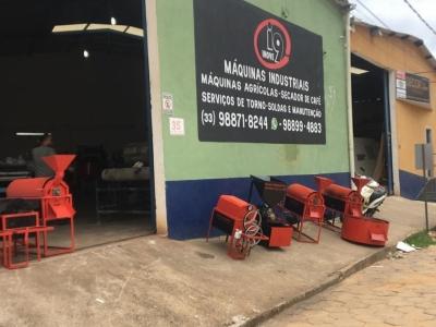 Vendo Empresa de torradores de café e maquinas agricolas