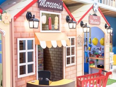 Recreação e Entretenimento Infantil em Shopping