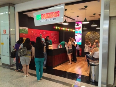 Franquia Los Paleteros Completa e Rodando (Shopping ABC)