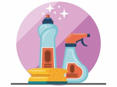 Loja de Produtos Essenciais, Limpeza, embalagens