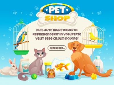 pet shop com clinica veterinaria