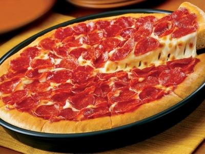 Loja da maior rede de pizzaria mundial