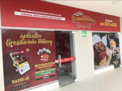 Franquia Brasileirinho Delivery próximo à UFSC