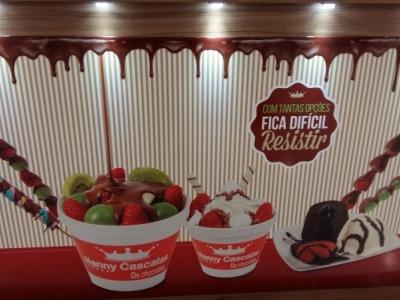 Quiosque Shopping Iguatemi Caxias - Alimentação chocolate