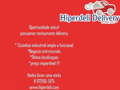 Restaurante delivery- Oportunidade única