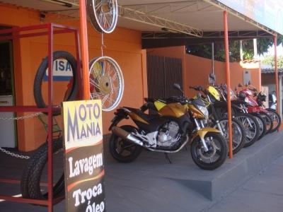 Oficina de moto completa