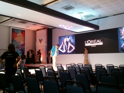 produção audiovisual para eventos