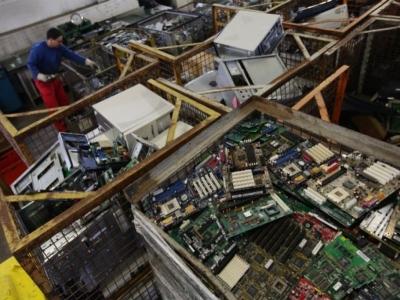 Empresa de Coleta e Reciclagem de Lixo Eletrônico