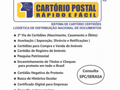 Vendo Franquia da Cartorio Postal em Duque de Caxias