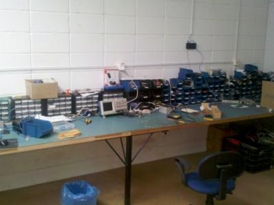 Indústria de sensores eletrônicos e artigos de decoração