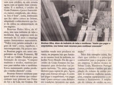EMPRESA DE TELAS E MOLDURAS .